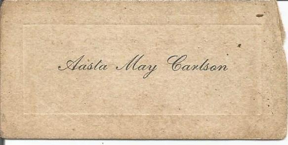 aasta may carlson