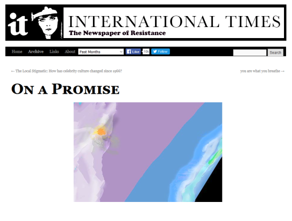on a promise screenshot