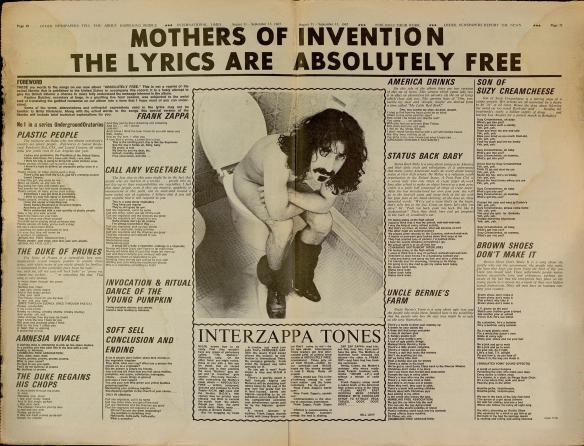 zappa free lyrics