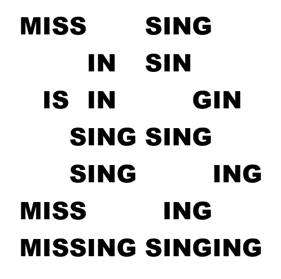 Missing Singing