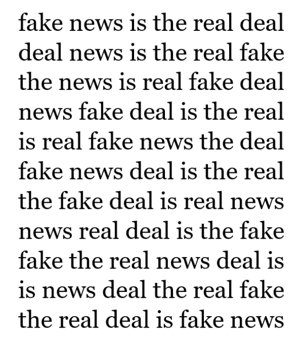 real fake news