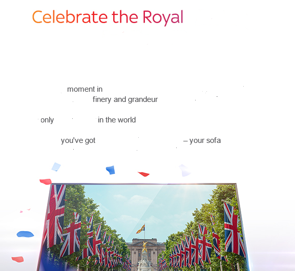 celebrate the royal