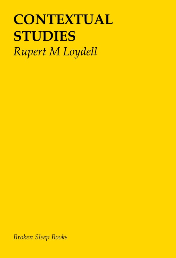 Rupert mnodot Loydell paperback front cover (002)