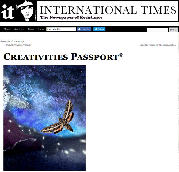 creativities passport2