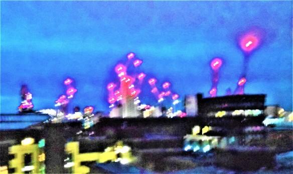 Manchester Cranelights Skyline