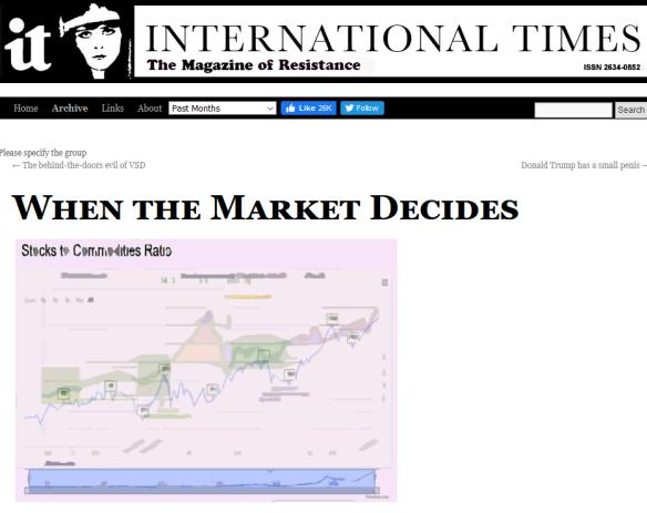 IT markets