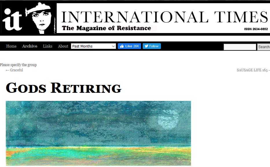god's retiring image