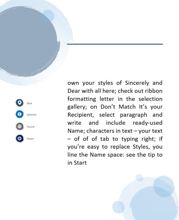 blue spheres found poem